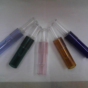 Colored Glass Cigar Glass Blunt - Now Avail. in 6 Colors