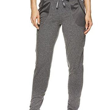 Nicole Miller Active Womens Mesh Track Pants  Activewear Workout amp Running Joggers