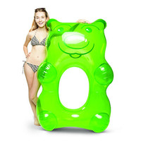 Giant Gummy Bear Pool Float - Green