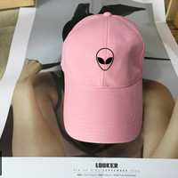 Alien - Baseball Cap, Tumblr hat , Dad Hat Dad Cap Unisex Adjustable Strap Back , Low-Profile Baseball Cap Hat