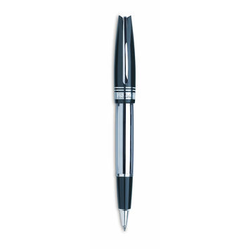 PINEIDER Egosphere Black Rollerball Pen - Ergal and Methacrylate