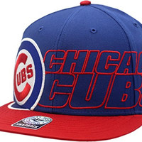Chicago Cubs Big Rush Flat Bill Snapback 11117