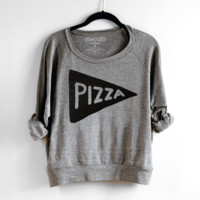 Pizza Womens Sweatshirt