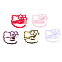 Hello Kitty 5-Piece Hair Clip Set: Face