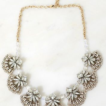 Glitz Gorgeous Rhinestone Necklace