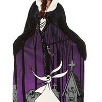 The Nightmare Before Christmas Jack Cozy Throw With Sleeves - 195647