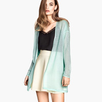 Knitted cardigan - from H&M