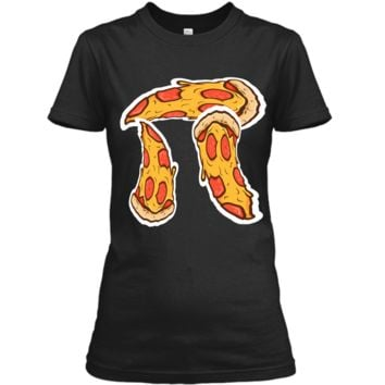 Pi Day Shirt kids Pizza Pi Funny Math Food 3.14 Distressed Ladies Custom