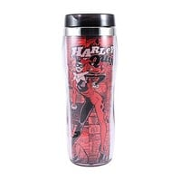 Harley Quinn Comic Travel Mug