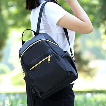 Women Leather japanese school backpacks Travel Shoulder Bag for teenage girls school bags Drop shipping #7M