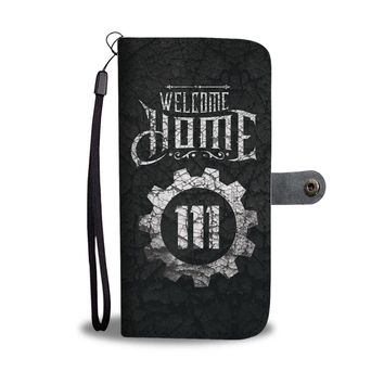 'Welcome Home 111' (Fallout 4) Wallet Phone Case