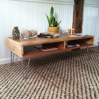 Modern Coffee Table/Media Console plus Dual Sided Storage