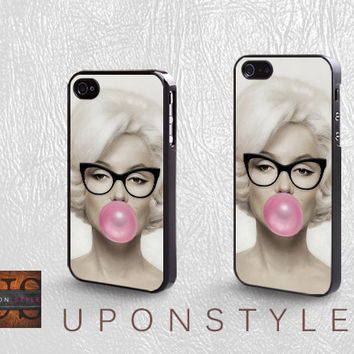 Phone Cases, iPhone 5 Case, iPhone 5s Case, iPhone 4 Case, iPhone 4s case, Marilyn Monroe, iPhone Case, Case for iphone, Case No-750
