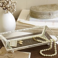 Antique Silver Display Tray