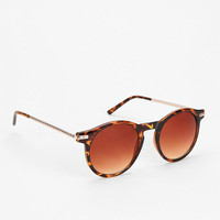 Jupiter Round Sunglasses