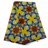 Ghanaian Ankara Fabric - by the Yard - African Dutch Wax - Cotton Ankara Print - GTP NuStyle