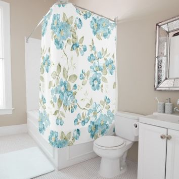 Best Aqua Floral Curtains Products On Wanelo
