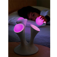 GLO - Color Changing Nightlight with Portable Glowing Balls