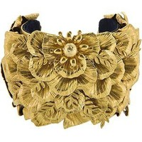 Miriam Haskell Goddess Statement Cuff | Miriam Haskell Accessories - Bag Borrow or Steal
