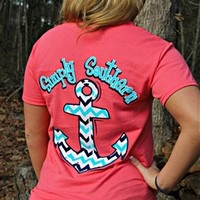 Simply Southern Anchor Tee