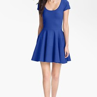 FELICITY & COCO Ponte Knit Fit & Flare Dress (Nordstrom Exclusive)