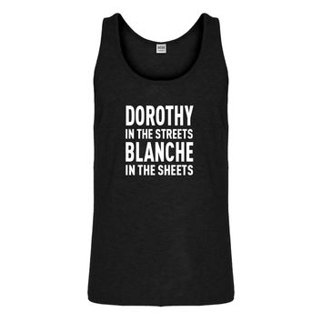 Tank Dorothy in the Streets Mens Jersey Tank Top