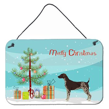 German Shorthaired Pointer Christmas Tree Wall or Door Hanging Prints CK3541DS812