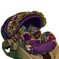 Custom Infant Car Seat Cover - Carousel-   BBSprouts - Children's on ArtFire