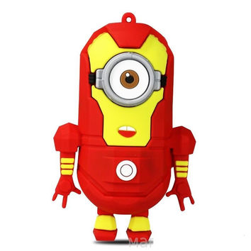 "Portable Battery Charger Minions ""Iron Man"" 4400 mAh"