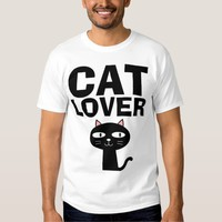 CAT LOVER, funny T-shirts