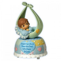 Precious Moments Little Blessings Baby Boy Musical