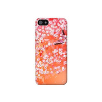 P7018 Japanese Style Flower Pattern Case For IPHONE 5C
