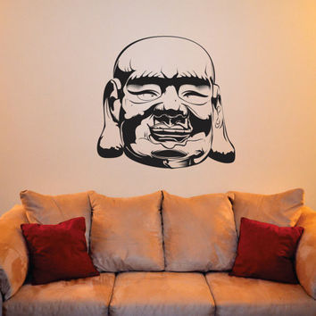 Buddha Head Buddhist Design Decal Sticker Wall Vinyl Decor Art