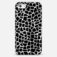 British Mosaic Black and White iPhone & iPod case by projectm | Casetagram