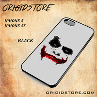 JOKER Snap on 2D Black and White Or 3D Suitable With Image For Iphone  5/5S Case