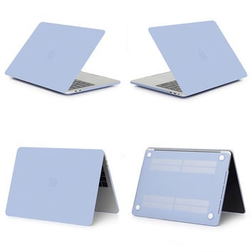 """GOOYIYO -  Laptop Hard PC Matte Case For  Macbook Pro 13"""" With Touch Bar Notebook A1706 A1708 Protective Cover Shell"""