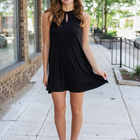 Just Go With It Dress - Black