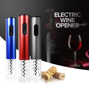 Automatic Cordless Wine Bottle Opener Automatic Corkscrew