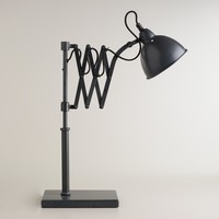 Accordian Task Table Lamp - World Market