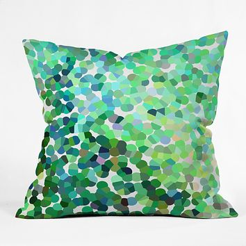 Rosie Brown Bubbles Outdoor Throw Pillow