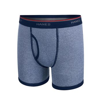 Hanes X Temp Boys' Ringer Boxer Brief with Comfort Flex Waistband 4 Pack