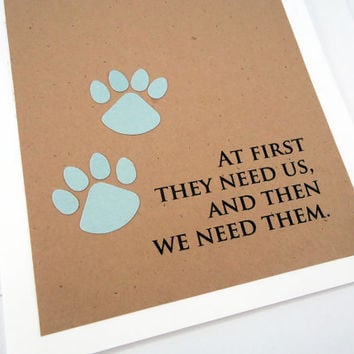 Pet Sympathy Card, Loss of Pet, Pet Condolence, Dog Sympathy, Cat Sympathy, Veterinarian card