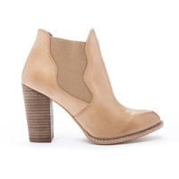 Zealous Leather Bootie : Tan by Chinese Laundry