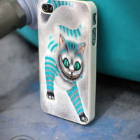 The Cheshire Cat iPhone 4 5 5c 6 Plus Case, Samsung Galaxy S3 S4 S5 Note 3 4 Case, iPod 4 5 Case, HtC One M7 M8 and Nexus Case