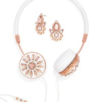 Rose Gold FRENDS x BaubleBar Layla Headphones