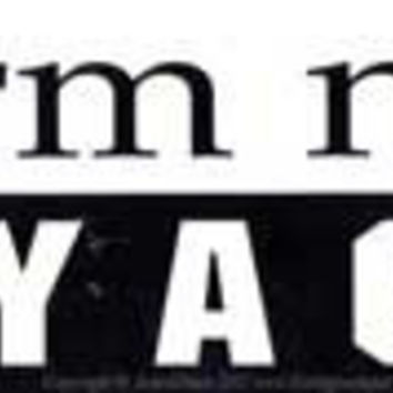 Harm None, Carry a Gun bumper sticker