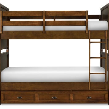 Bed Bennett Kids' Bunk, Bunk Beds