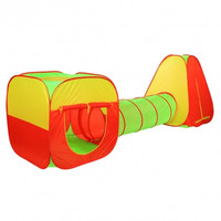 Foldable Baby Kids 3in1 Play Tent Multifunctional Pop-up Children Outoor Tunnel Toys