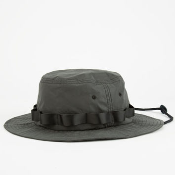 Hall Of Fame 3M Boonie Mens Bucket Hat Black One Size For Men 25288110001