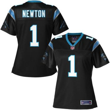 NFL Pro Line Women's Carolina Panthers Cam Newton Team Color Jersey